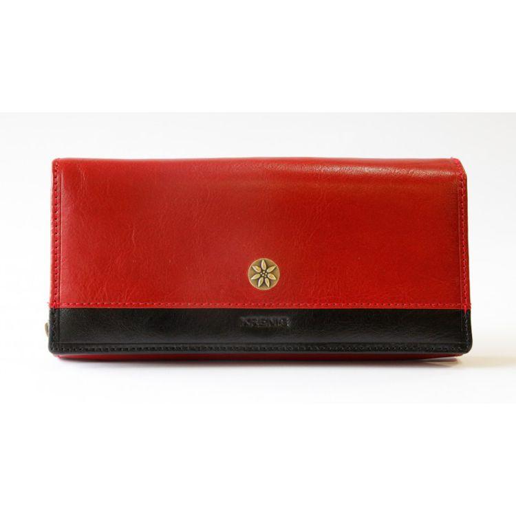 """Ladies Wallet """"Scarlet"""" - Red Leather"""