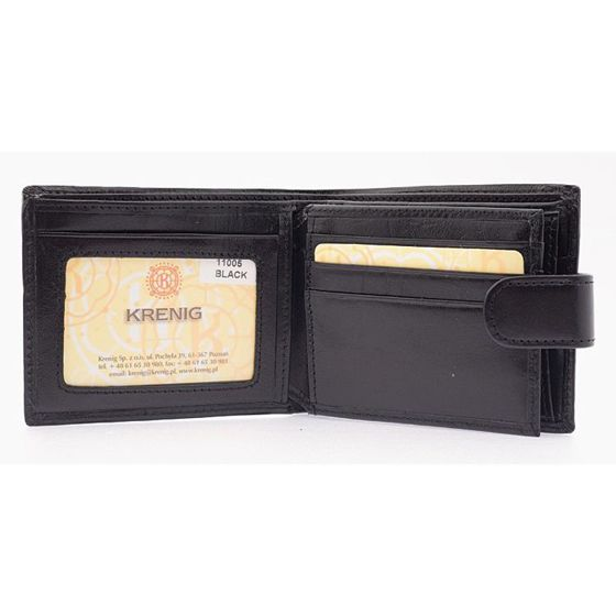 "Getlemens ""ElDorado"" Wallet- Black Leather"