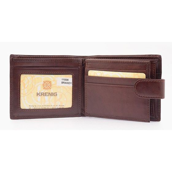 "Getlemens ""ElDorado"" Wallet- Brandy Leather"