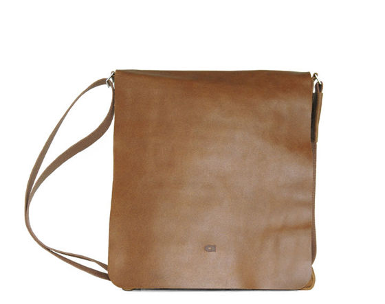 Cognac Shoulder Bag, DAAG, Jazzy Smash No.71