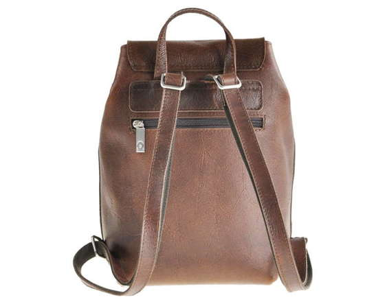 Ladies Leather Backpack