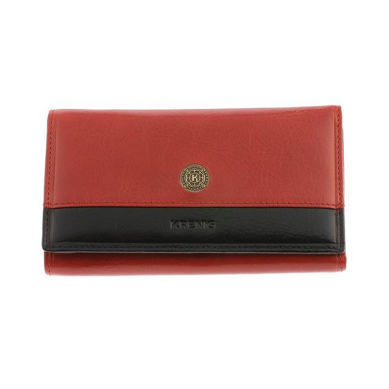 "Ladies  Wallet ""Scarlet"" - Red Leather"
