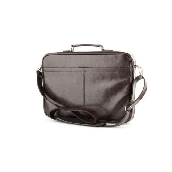 "Leather 17"" Laptop Bag No.541"