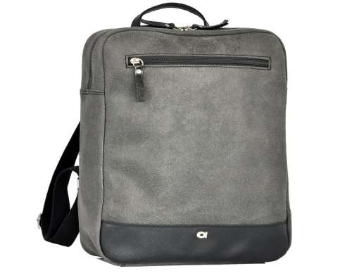 Leather Backpack for a Laptop