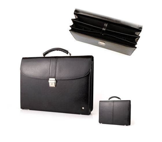 Leather Briefcase B-826DW