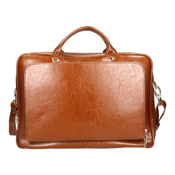 "Medium Briefcase with 15"" Laptop Compartment for Men"