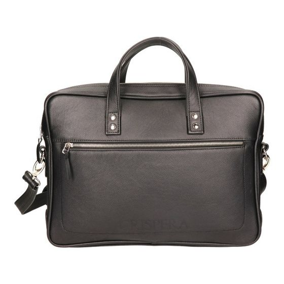 "Single Chamber Leather 15"" Laptop Bag ""Crispera"" MTL 1904"